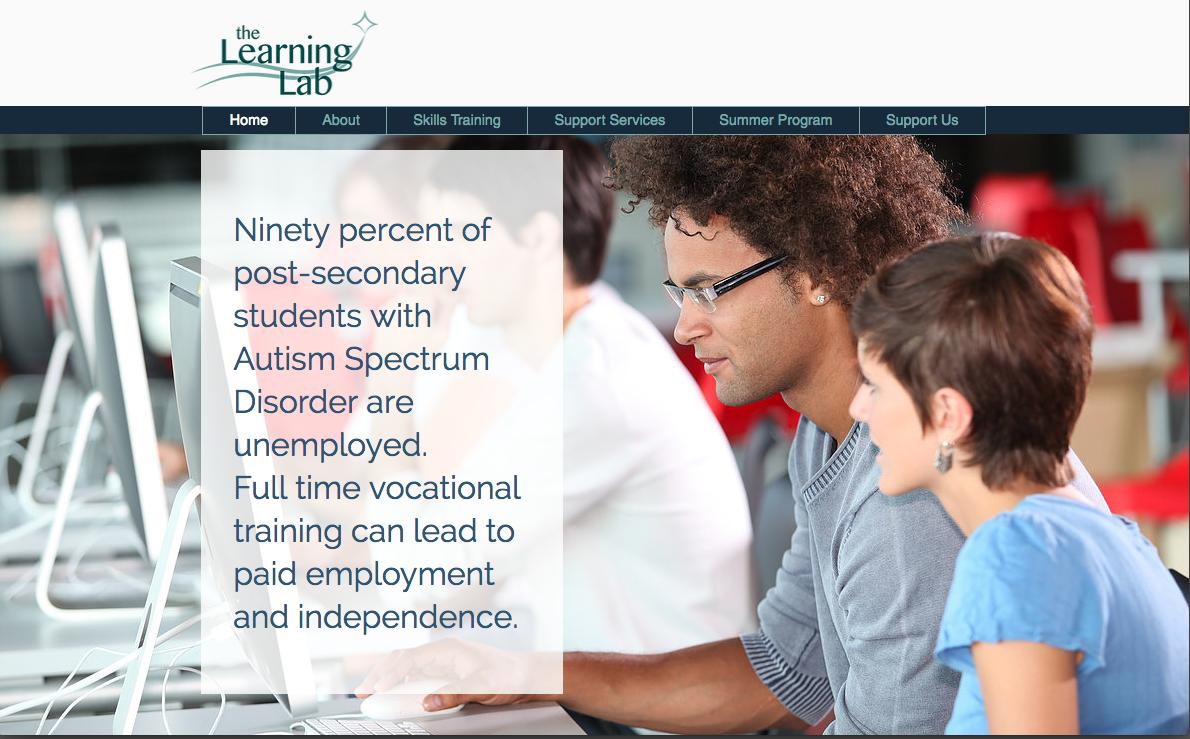 Learning Lab Website Design